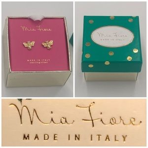 Mia Fiore GP 925 Sterling Silver Honey Bee Studs